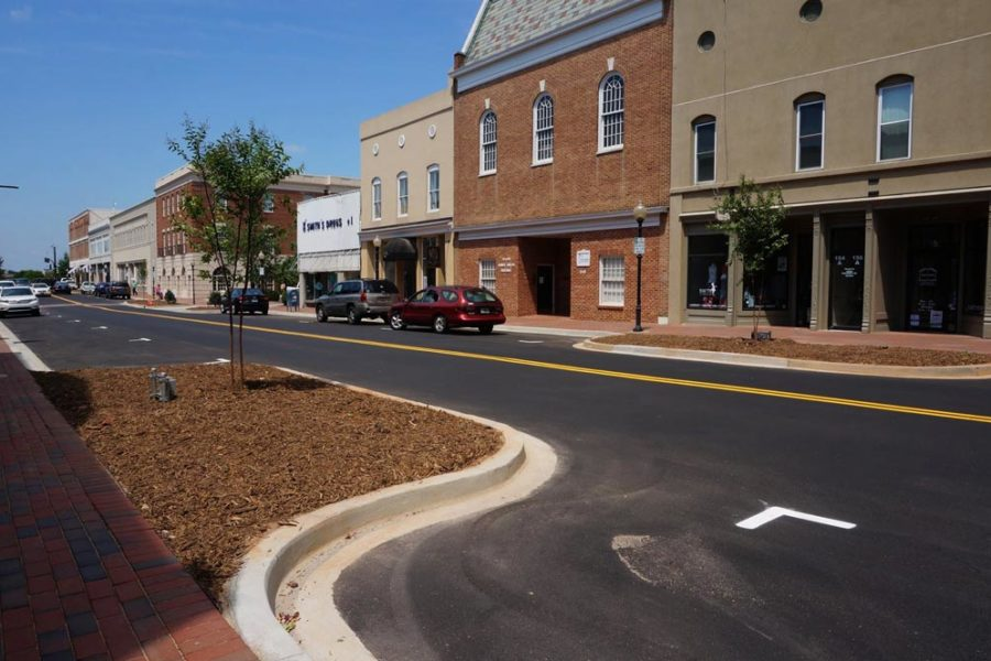 Downtown Streetscapes<br/>City of Spartanburg