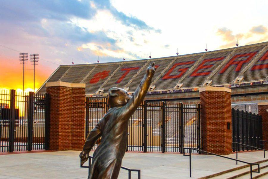 Memorial Stadium: Gate 1<br/>Clemson University